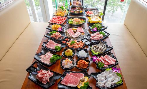 Quán ăn Nhật Bản Yaki Nabesu chuyên sushi và lẩu nướng