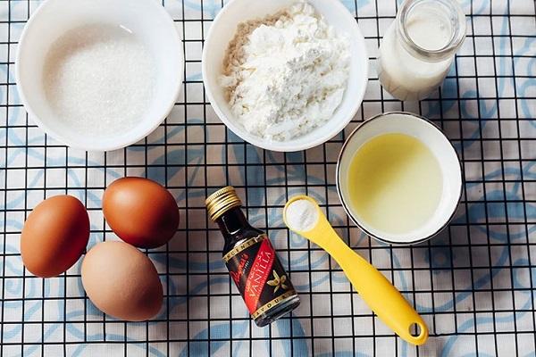Nguyên liệu làm bánh cần chuẩn bị