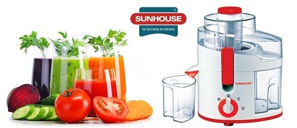 Máy ép trái cây thương hiệu Việt Nam - Sunhouse