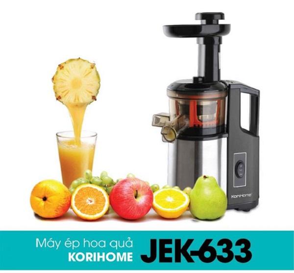 Máy ép trái cây tốc độ chậm Korihome JEK-633