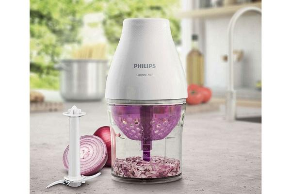 Máy xay thịt thương hiệu Philips với kiểu dáng hiện đại, gam màu sang trọng